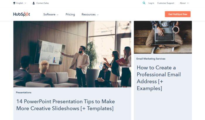 Content Marketing Winners - HubSpot