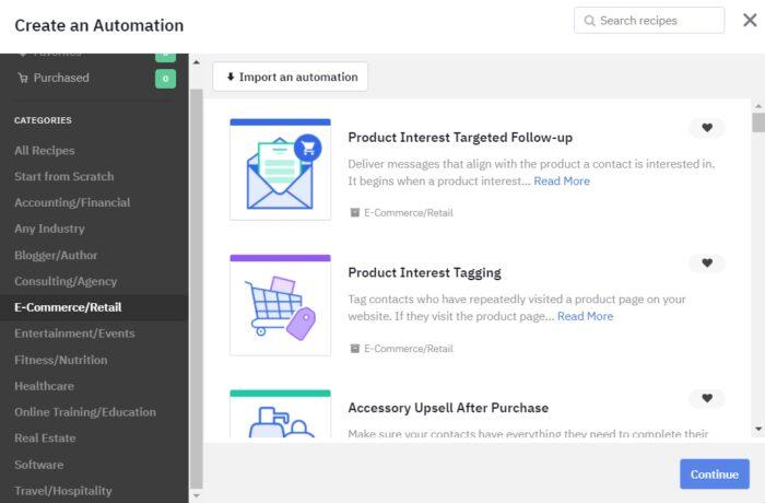 Digital Marketing Tools - ActiveCampaign